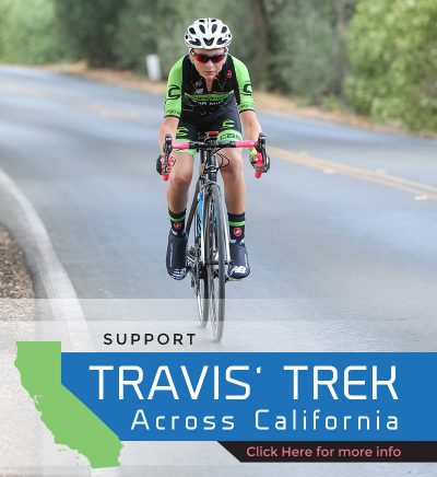 Support Travis' Trek Across California